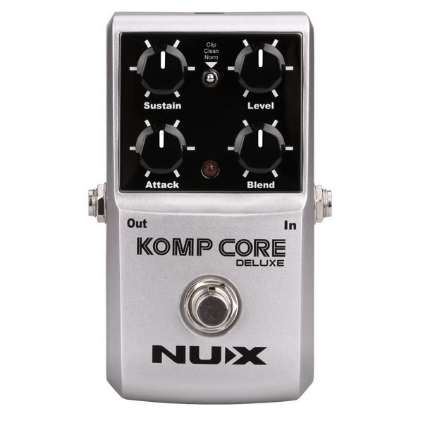 Pedal de efeito Nux compressor Komp Core Deluxe