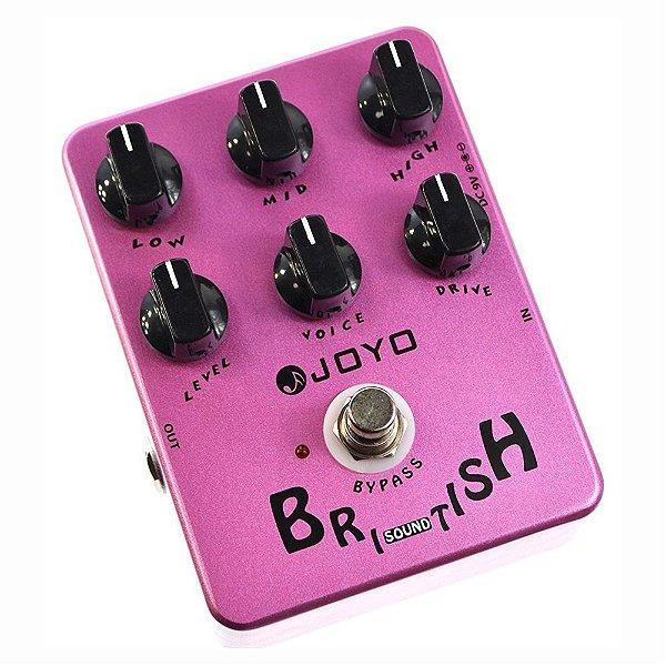 Pedal guitarra Joyo amp simulator - British Sound (Marshall)