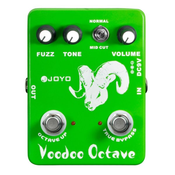 Pedal guitarra Joyo fuzz - Voodoo Octave