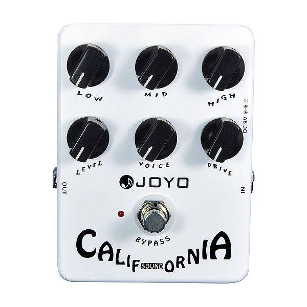 Pedal de efeito amp simulator - California Sound (Mesa MKii)