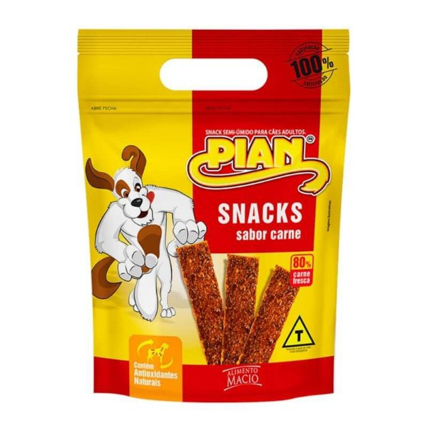 Petiscos Canino Snacks Sabor Carne