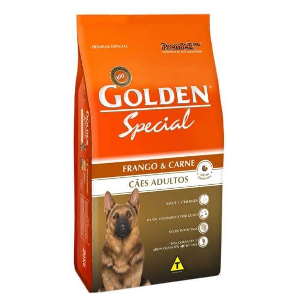 Ração Golden Special Adultos Frango e Carne