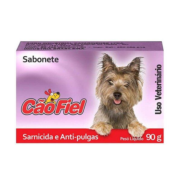 Sabonete Cão Fiel Sarnicida e Anti-Pulgas 90g