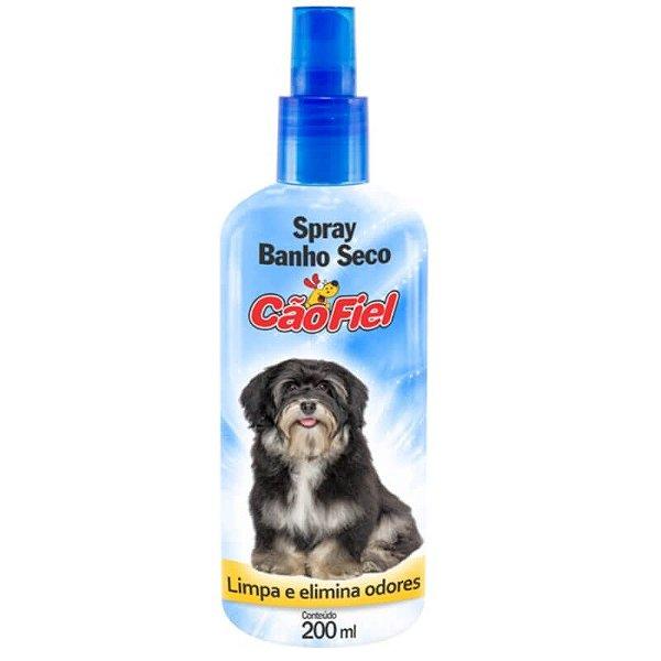 Spray Banho a Seco Cão Fiel 200ml