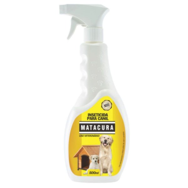 Spray Inseticida para Canil Matacura 500ml