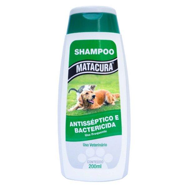 Shampoo Antisséptico e Bactericida Matacura 200ml