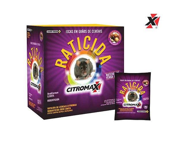 Raticida Citromax Grãos de Cereais 25g