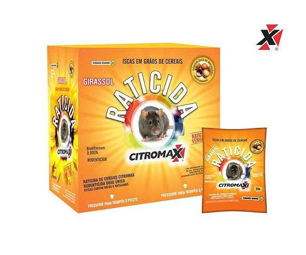Raticida Citromax Girassol 25g