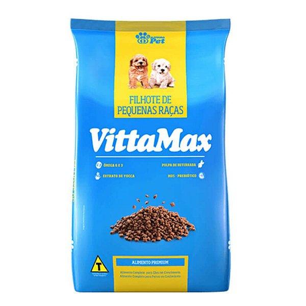 Ração VittaMax filhotes Pequenas Raças Premium Especial