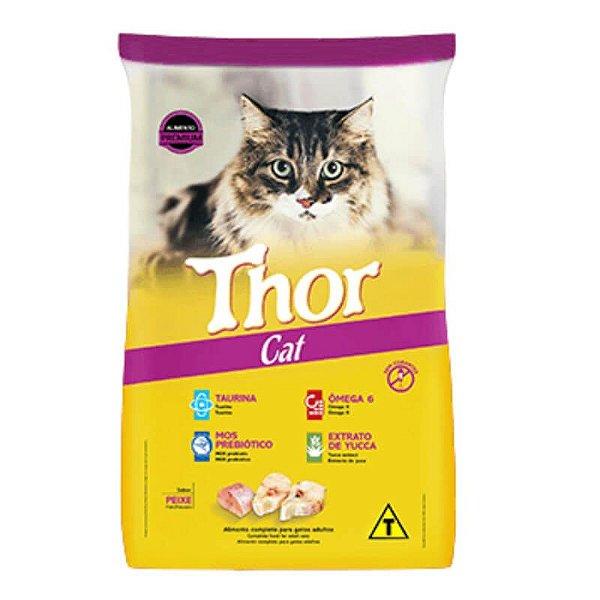 Ração Thor Cat Adultos Sabor Peixe