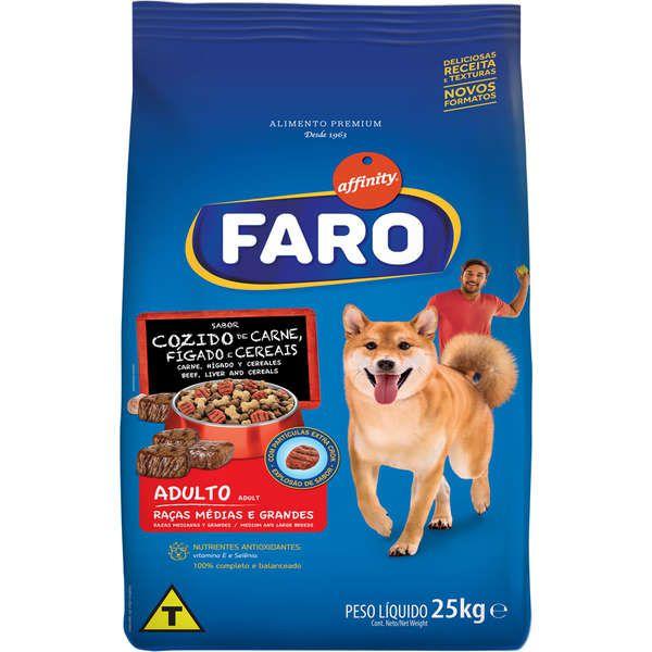 Ração Faro Adulto Carne Premium