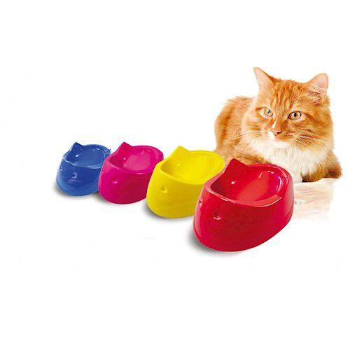 Comedouro Furação Pet Cara de Gato 200ml