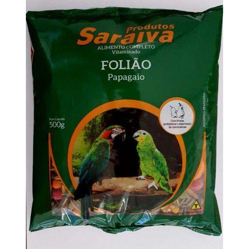 Ração para Papagaio com Frutas Probiótica  500g