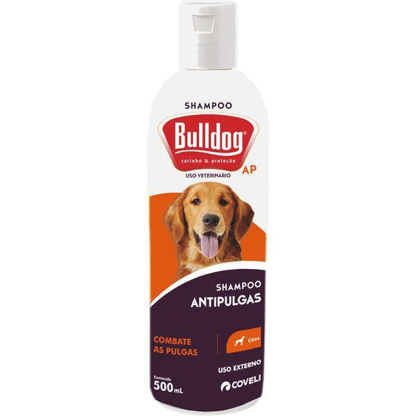 Shampoo Bulldog Antipulgas para Cães Coveli 500ml