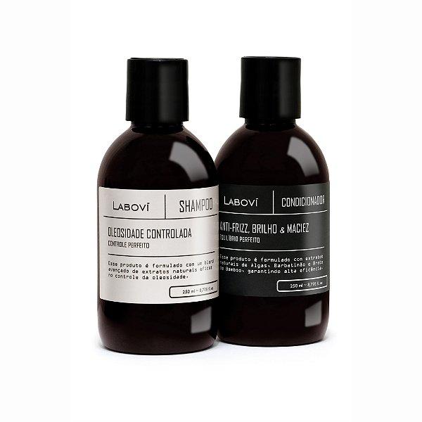 Shampoo Oleosidade Controlada + Condicionador Anti-Frizz, Brilho e Maciez
