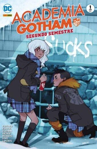 Academia Gotham - Segundo Semestre - Volume 1