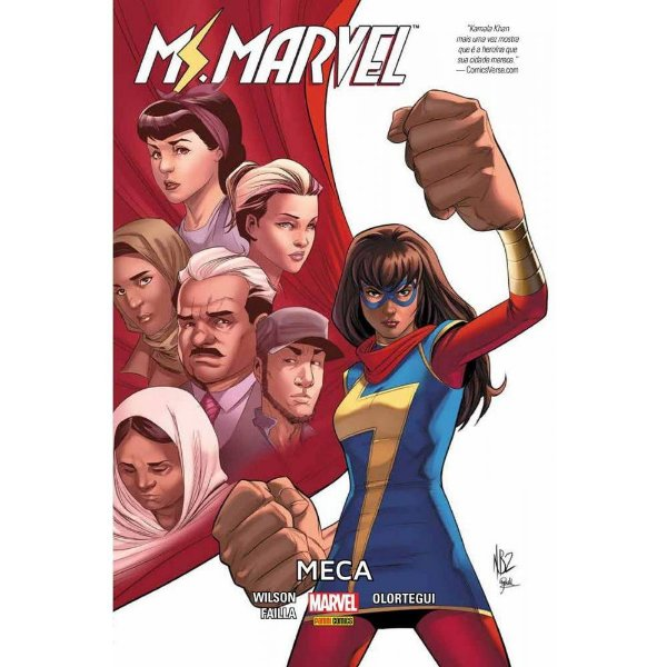 Ms Marvel - Meca