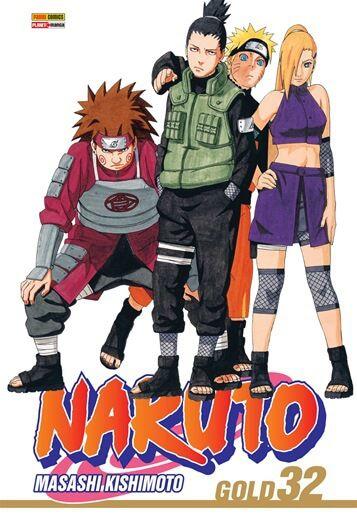 Naruto Gold -  Edição 32