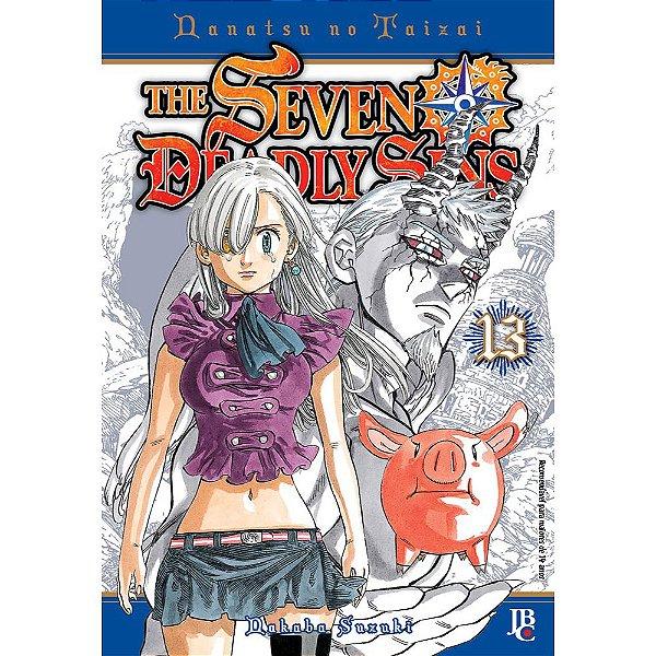 The Seven Deadly Sins - Volume 13