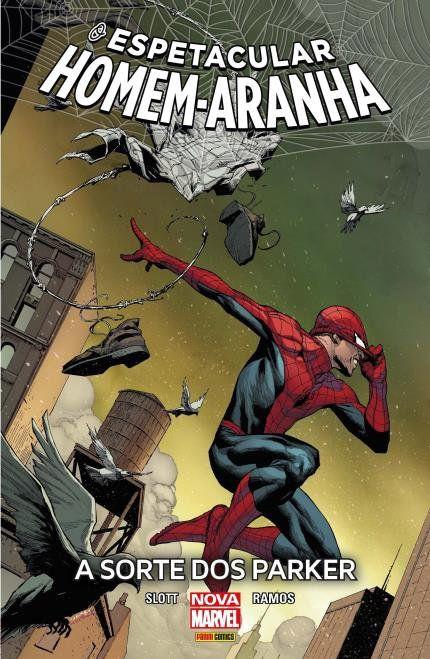 O Espetacular Homem Aranha - A Sorte dos Parker - Edição 01