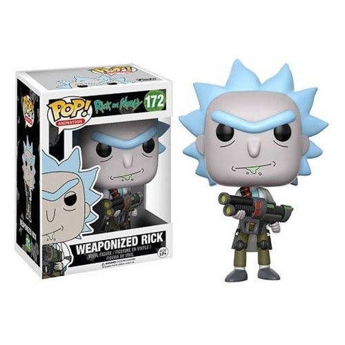 Pop Weaponized Rick: Rick and Morty