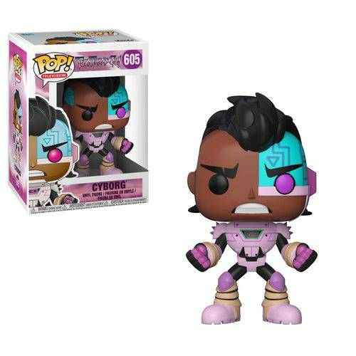 Pop Cyborg: Teen Titans Go