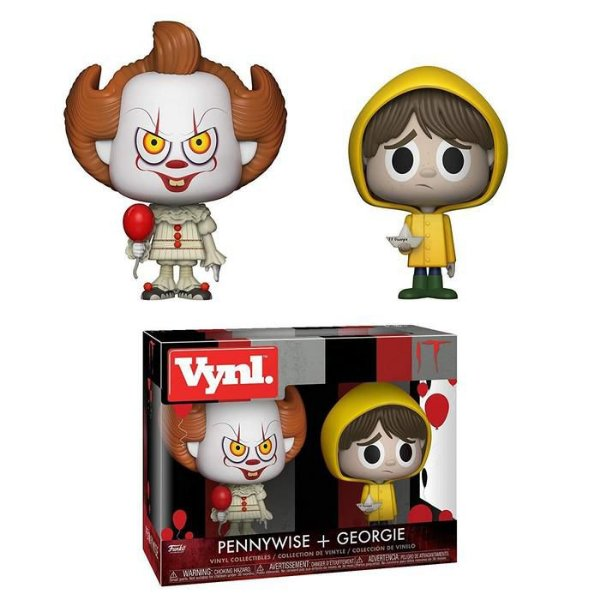 Funko Vynil Pennywise + Georgie: It