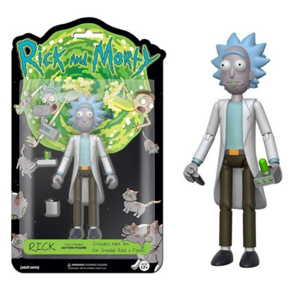 Action Figure Rick : Rick and Morty