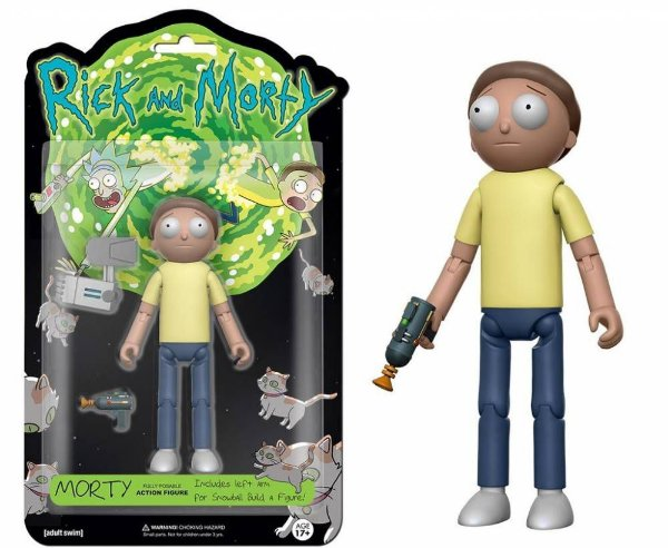 Action Figure Morty : Rick and Morty