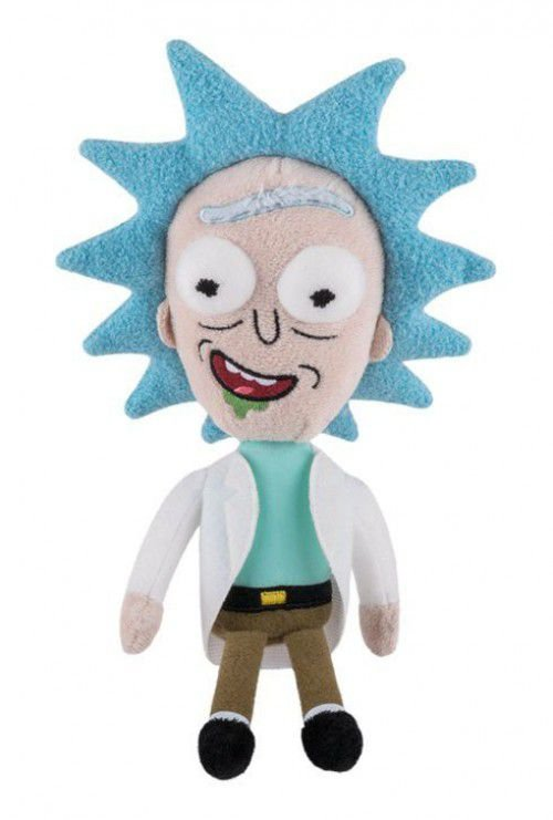 Funko Rick and Morty Plushies: Rick Happy