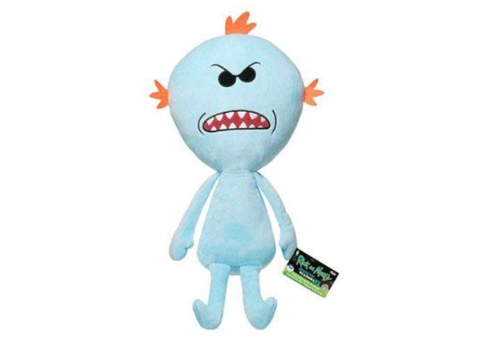 Funko Rick and Morty Plushies:  Mr. Meeseeks