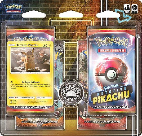 Cards Pokémon Detetive : Estampas Ilustradas