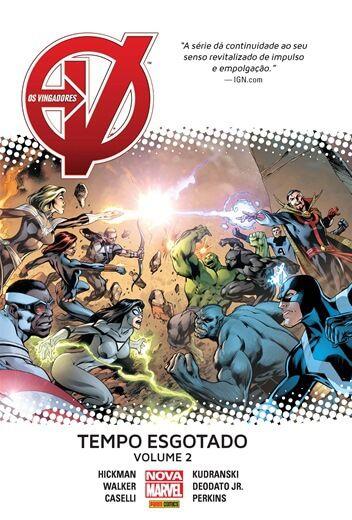 Vingadores: Tempo Esgotado - Volume 2