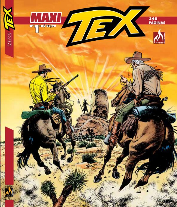 Tex Maxi - Edição 01