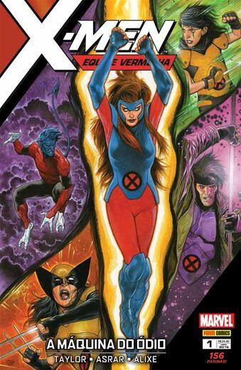 X-Men : Equipe Vermelha A Máquina do Ódio - Edição 1