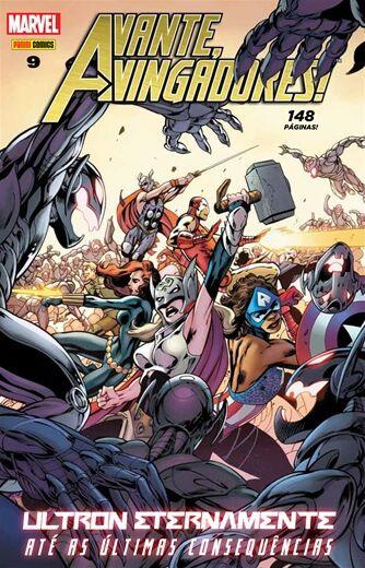 Avante Vingadores - Edição 9