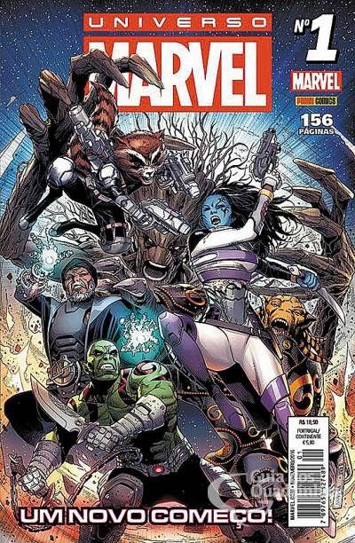 Universo Marvel - Edição 1