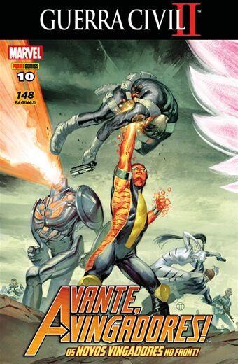 Avante Vingadores - Edição 10