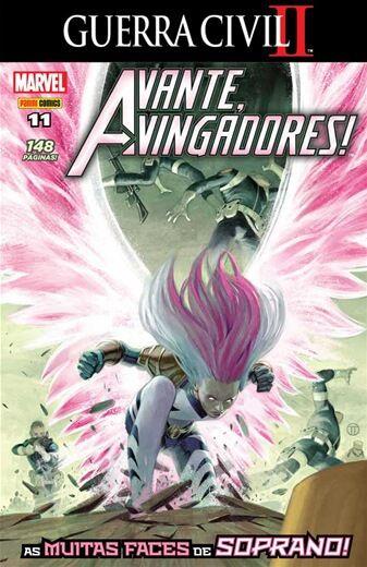 Avante Vingadores - Edição11
