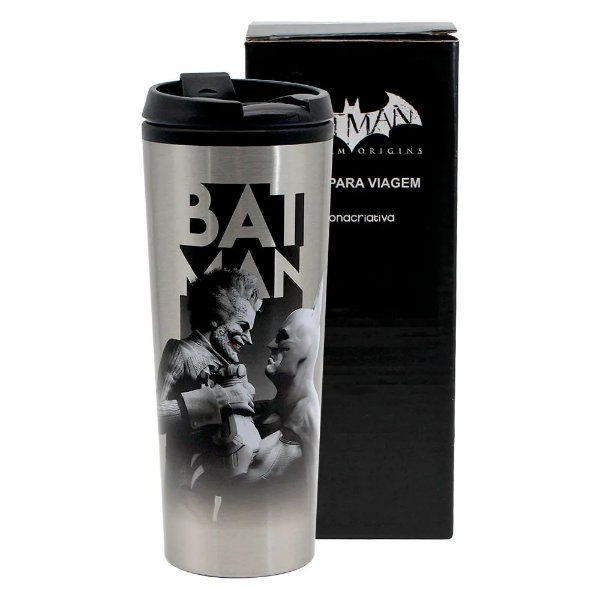Copo de Viagem Batman vs Coringa