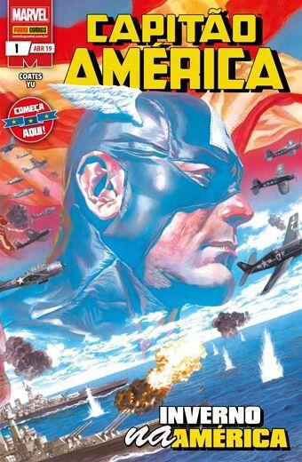 Capitão América - Edição 1: Inverno na América