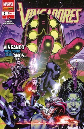 Os Vingadores: Vingando após todos esses anos - Edição2