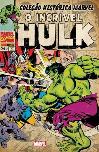 O Incrível Hulk: Volume 5 - Coleção Histórica Marvel