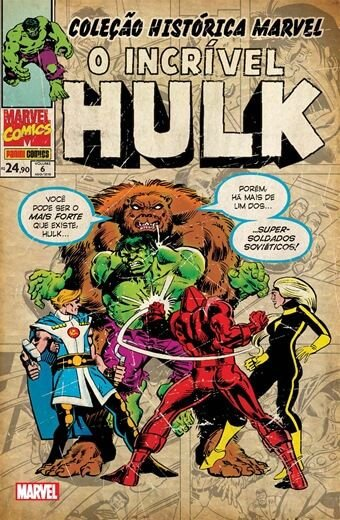 O Incrível Hulk: Volume 6 - Coleção Histórica Marvel