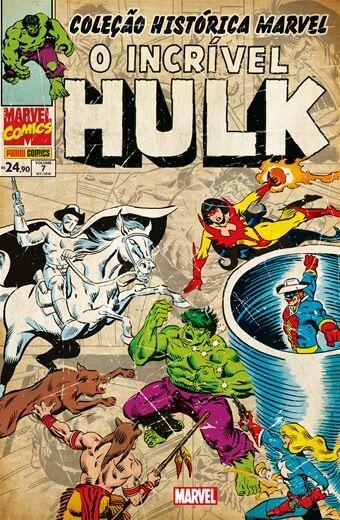 O Incrível Hulk: Volume 7 - Coleção Histórica Marvel