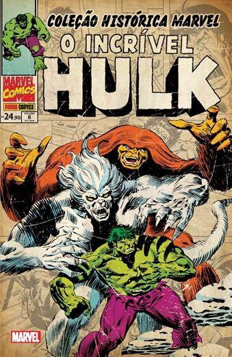 O Incrível Hulk : Volume   8 - Coleção Histórica Marvel