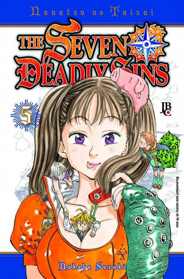 The Seven Deadly Sins - Volume 5