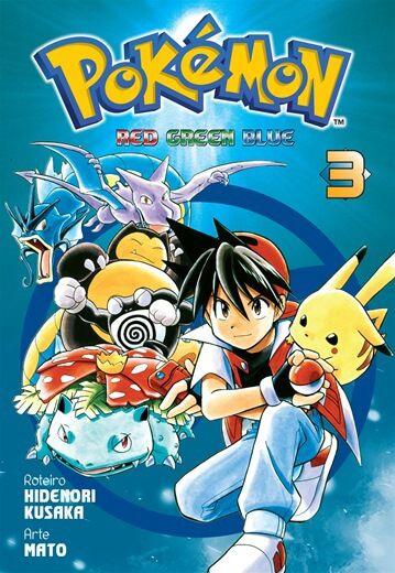 Pokemon Red Green Blue - Edição 3
