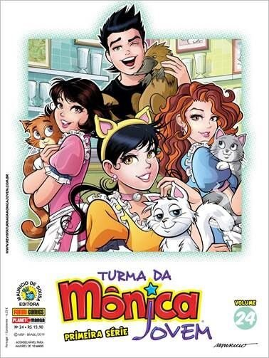 Turma da Mônica Jovem:  Primeira Série - Volume 24