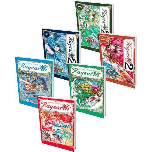 Box Guerreiras Mágicas de Rayearth - Edição 1 a 6